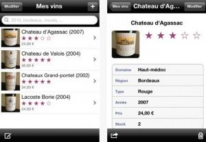 G rez votre cave vin en toute simplicit sur iphone et ipad avec l 39 app gratuite auj sur - Application cave a vin gratuite ...